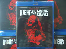 Night of The Living Dead Blu-ray (1990) Remake Brand NEW Sealed  Limited 3,000