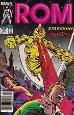 Marvel Comics! Rom: Spaceknight! Issue 51!