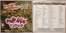 Promo Only Dvd Pop Mix Video 2003 March Shakira Sting Moby Aerosmith Kid Rock
