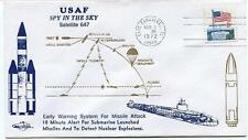 1972 USAF Spy In The Sky Satellite 647 Warn. System for Missile Attack Submarine