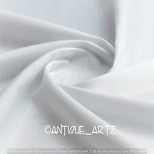 5 Yard Solid Plain Pure Cotton Voile Loose Best Fabric Craft Color Sewing GIFT-4