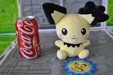 Pokemon Center Pichu Spiky Eared Gizamimi Pokedoll Plush 2009 Japanese LEGIT