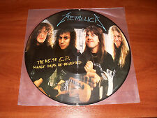 Metallica The $5.98 E.P. Garage Days Re-Re Revisited LP 1987 1st Edition