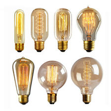 E27 40W Edison Vintage Glühbirne Licht Filament Retro Glühlampe 220V-240V Deko