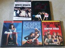 White Nights, Dirty Dancing 20th, Center Stage, Desert Dancer & Flash Dance DVD