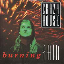 "7"" 45 TOURS UK CRAZY HOUSE ""Burning Rain / Garden Of Luck"" 1988 NEW WAVE"