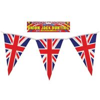 England Union Jack Uk Bunting Flags Great Britain English Decorations Party 7m
