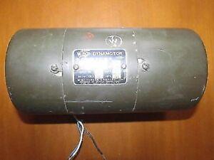 DYNAMOTOR DY134 / GRC-9 NOS 28VDC AT580V 0.100 A
