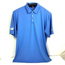 Nike Golf Mens DriFit Polo Shirt Charity Golf Event United Way Cooper Tire Large