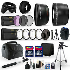 48GB Top Accessory Kit for Canon EOS Rebel T3i Digital SLR Camera