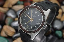Vintage LONGINES Automatic Cal. 505 Stainless Steel Bakelite Bezel Divers Watch