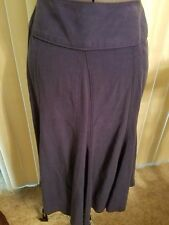 J Jill,women's blue long skirt, size 6p, zipper up side, excellent condtition