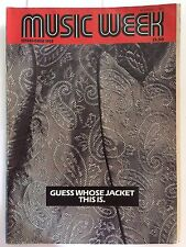 MUSIC WEEK MAGAZINE  23  NOVEMBER 1985  JOHNNY CASH    LS