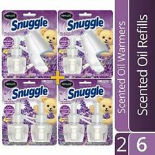 Snuggle Oil Plug in Air Freshener Lavender 6 Refills 2 Warmers BEST $ ON E-BAY!