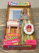 1998 Cool Sitter Teen Skipper with 2 Babies twins doll NRFB Barbie
