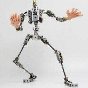 DIY Stop Motion Armature  20cm high quality stainless steel animation puppet