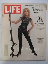 Life Magazine With Jane Fonda On The Cover March 29 1968 Vol 64 No 13