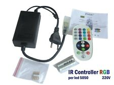 Controller IR (infrarossi) x strisce RGB 5050 led -in AC 110-20V out 220V/1000W