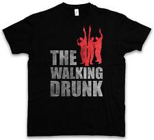 THE WALKING DRUNK T-SHIRT – Dead Fun Boose Hangover Barfly Party University