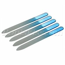5pcs Women Glass Nail Art Care File Buffing Sanding Manicure Polish Durable Tool