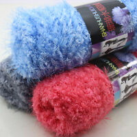 Lot Sale Ball 100g yarn Chunky Hand Mink Cashmere Knit Crochet Fluffy Wool yarn