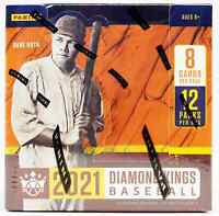 2021 PANINI DIAMOND KINGS BASEBALL HOBBY BOX BRAND NEW SEALED FREE SHIPPING