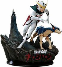 KYASHAN - Legend Anime Kyashan & Flender Polystone Statue 5PRO STUDIO
