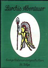 Lurchis Abenteuer lustige Salamandergeschichten 54.Folge von 1973 Werbecomicheft