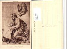 519843,Künstler AK Raffaello Santi Etude de Draperie Mutter Kind