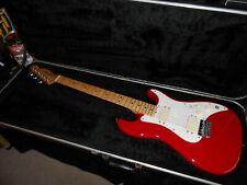 Fender 1981-83 USA Bullet H-2 Dakota Red with original case (rare)