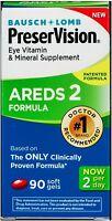 Bausch - Lomb Preser Vision Vitamin - Mineral AREDS 2 Formula Softgels 90 ea