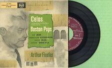 ARTHUR FIEDLER / Boston Pops Orchestra / RCA 3-26108 Pressing Spain 1958 EP EX