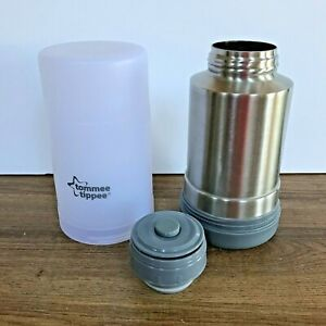 Tommee Tippee Closer to Nature Baby Bottle Food Warmer Compact Travel Flask