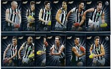 2016 SELECT FOOTY STARS EXCEL COLLINGWOOD FOOTBALL CARD SET