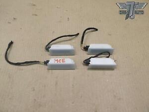 🥇06-16 MINI COOPER R55 R56 R57 R58 R59 R60 R61 SET OF 4 INTERIOR LIGHT LAMP OEM