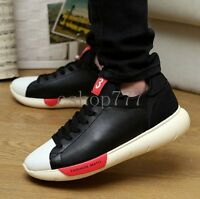 Fashion Mens Lace Up Fashion Lovers Sneakers Casual Cushioned Heavy Bottom Shoes