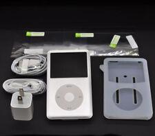 Silver Apple iPod Classic 6ème gén 80GB lecteur mince (dernier modèle) nouveau