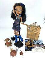 Monster High Doll Robecca Steam Art Class Captain Penny Penguin Keepers Critters
