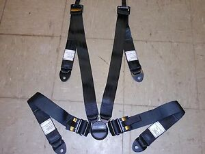 New Schroth 4-Point Safety Harness Restraint Seat Belt SL 36.9C Military Racing