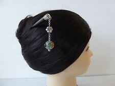 Japanese Kanzashi Hair Stick Metal Beads w/ Beads Design Hair Ornament