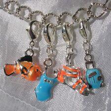 Bracelet kit 4 breloques+chaine bracelet 20cm+pochette cadeau organisa *V465