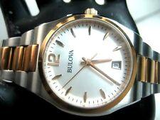 58c91be5399 Relógio Bulova 98M120 Relógio Casual Feminino S s   Rose G p