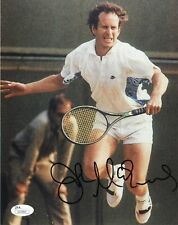 John McEnroe Signed 8x10 JSA COA Photo Autograph 8x Tennis Bjorn Borg
