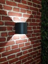 Led Lampada Applique per Esterni Up Down ad Arco Antracite Giardino da Parete