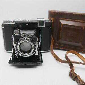 Zeiss Ikon Super Ikonta 532/16 Medium Camera 80mm F2.8 W/ Case Nice