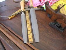 """ONE (1)TOME' FETEIRA 10"""" *HAND STITCHED* Cabinet Rasp Smooth Cut w/Wooden Handle"""