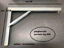MENSOLA PIEGHEVOLE KG.200 PORTATA CM.40