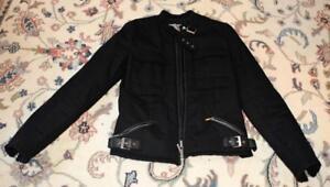 Authentic Sportmax Made Italy Women Sz 8 / Ita42 / GB10 modern black jacket