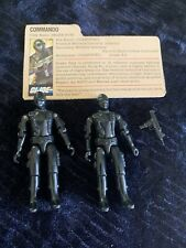 Snake Eyes GI Joe 1984 Hasbro  Lot 2 Vintage!! Accessories Card! No Reserve!