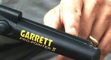 NEW Garrett Pro Pointer 2 II Pin Pointer Probe -Battery, Holster, 2Year Warranty